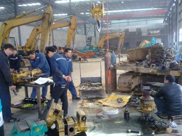 修理厂采购挖掘机配件选择桂之邦