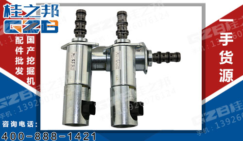 中联挖掘机配件 力士乐回转减速机锁定电磁阀DSL2K-X5-J-906-0