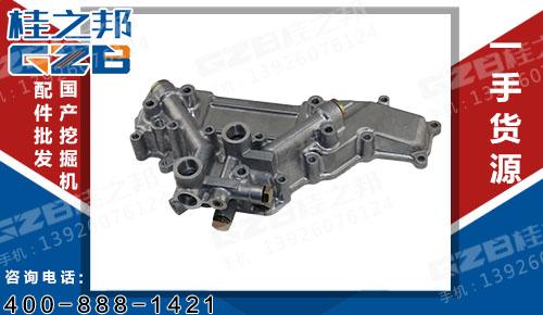 三一挖机配件 三菱机油冷却器盖ME088778  B220700000036JS