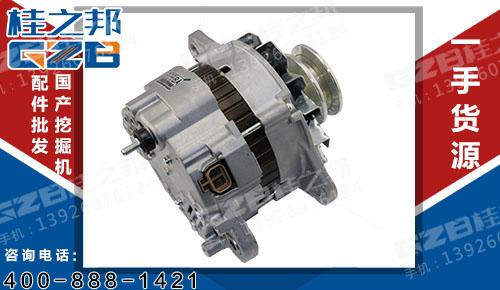 三一挖机配件 挖掘机发动机配件 三菱发电机ME354509  B221000000100