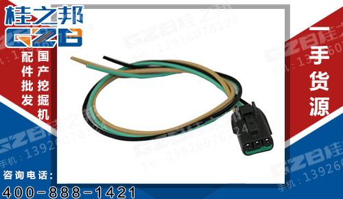 油门马达对插EX-5(3插) 挖机配件 60106830HS-1