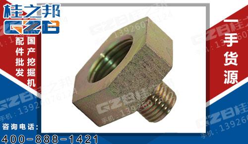 国机挖掘机配件 水温传感器接头(新式)  YQ3.430.010-1