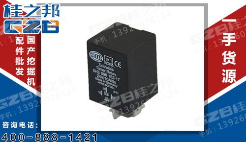 时间继电器5HE-996.152-14 三一挖掘机配件 60067864