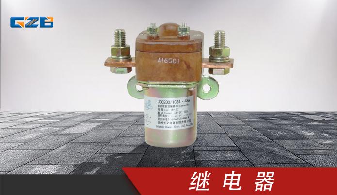 柳工挖机继电器 24VDC-200A  31B0042